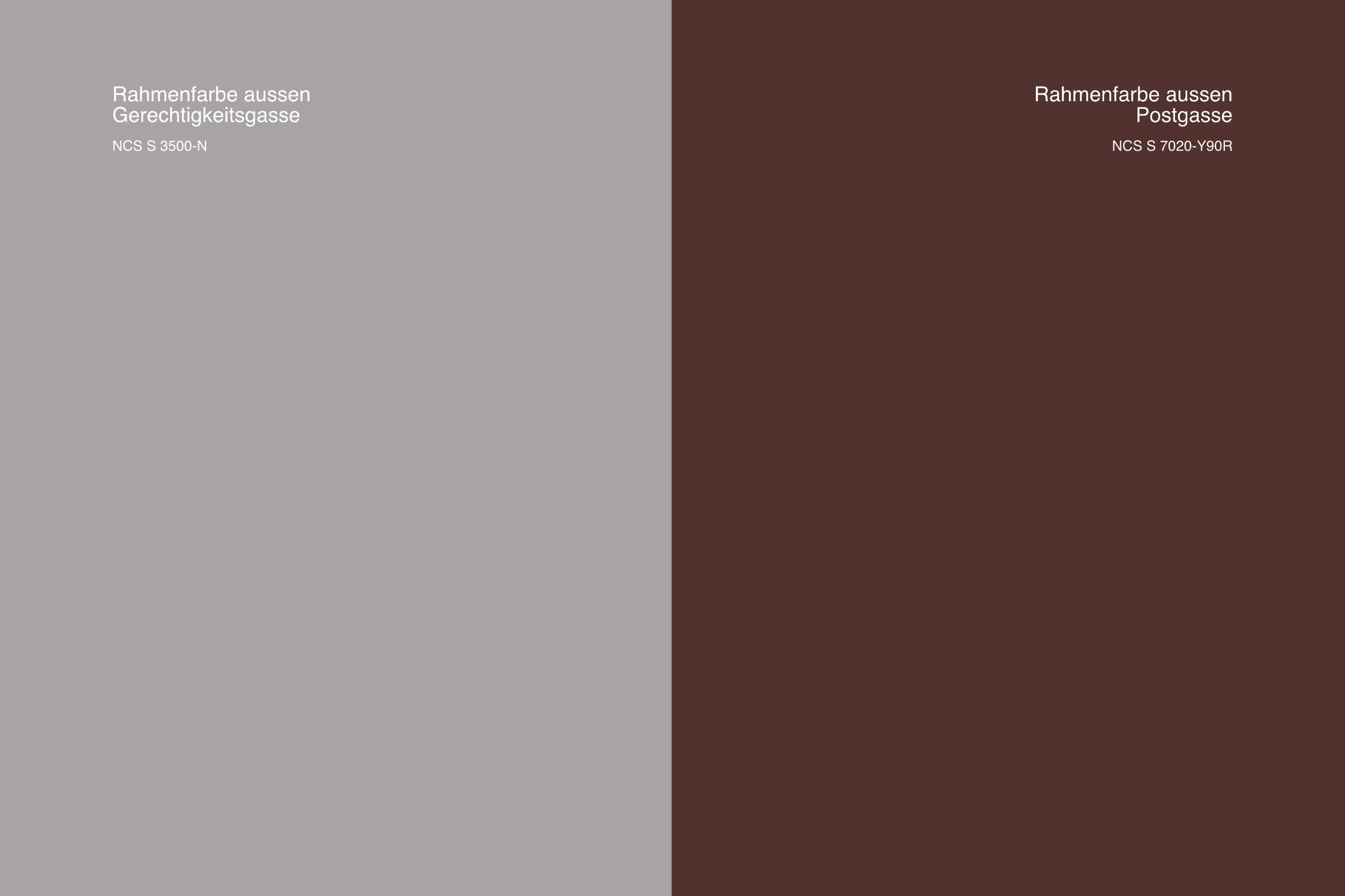 327 5 Rahmenfarben