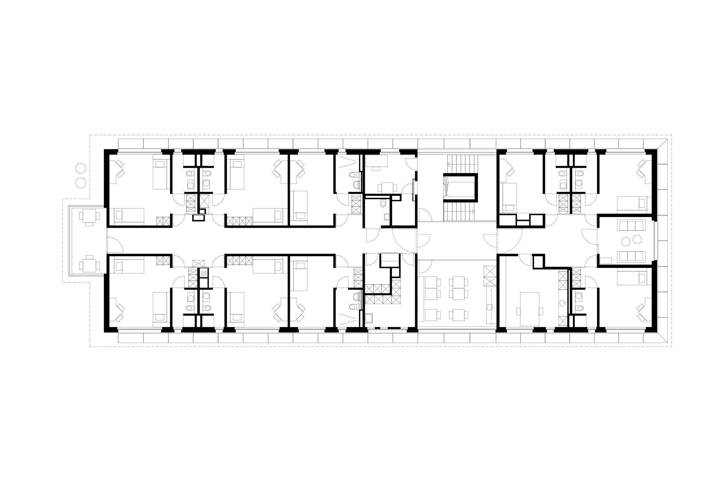 413 3 4 Birken Haus Obergeschoss